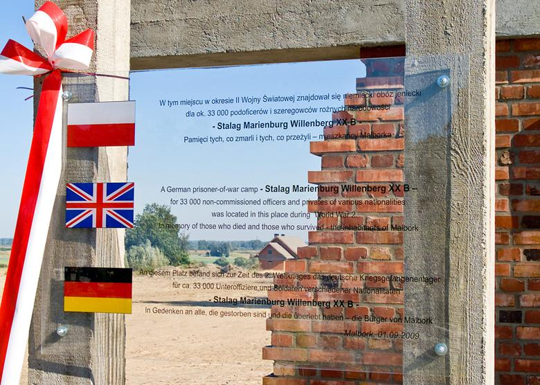 Stalag XXB Memorial Inscription