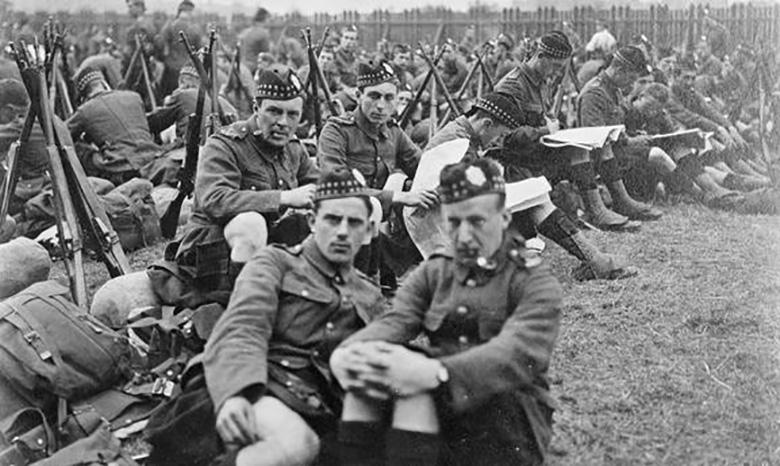 9th Royal Scots, Leith, 1914