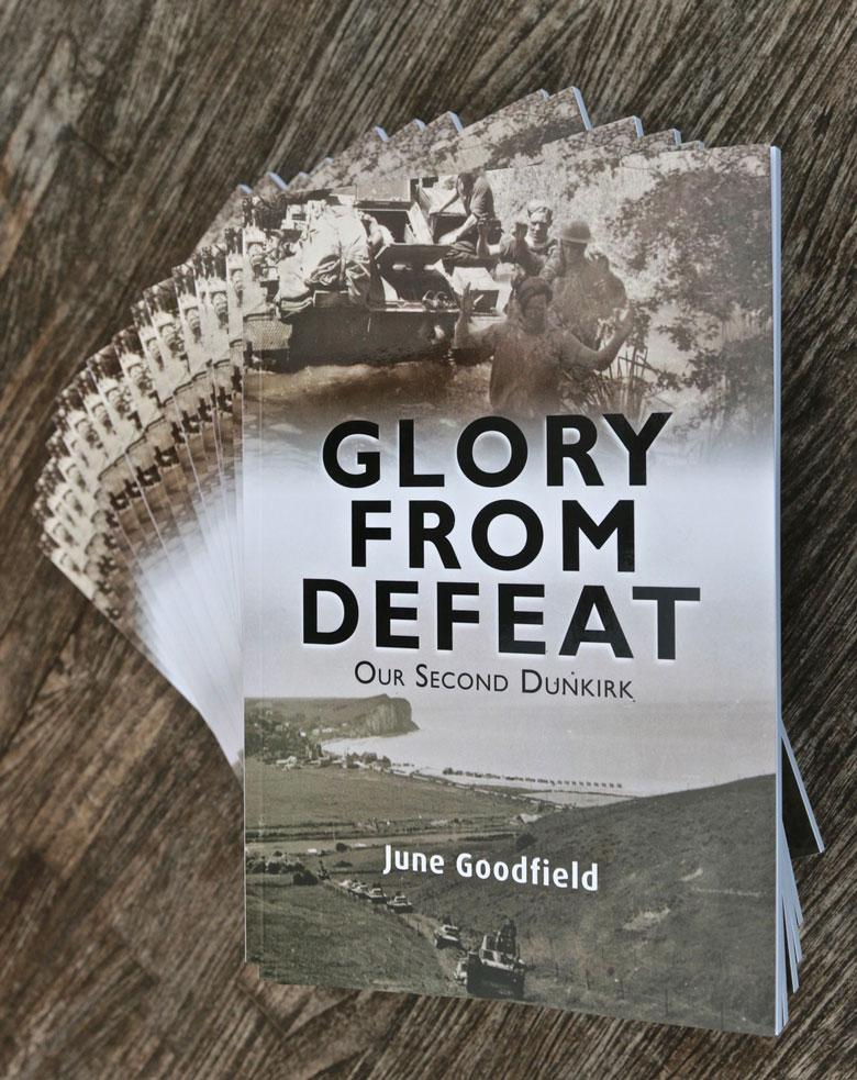 Glory from defeat by June Goodfield
