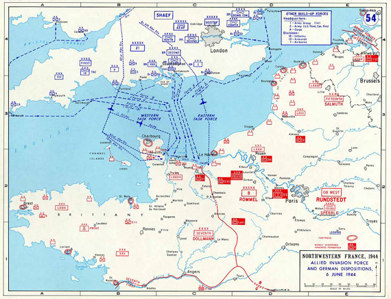 Allied Invasion Force, June 1944